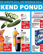Kaufland vikend akcija do 23.6.