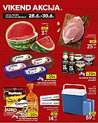 Konzum vikend akcija do 30.6.