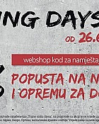 Lesnina akcija Shopping days
