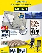 Metro katalog neprehrana Osijek Varaždin do 26.6.