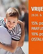 Muller akcija -15% -10% popusta