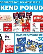 Kaufland vikend akcija do 21.7.