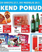 Kaufland vikend akcija do 28.7.