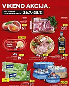 Konzum vikend akcija do 28.7.