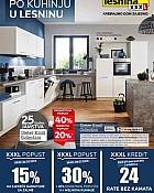 Lesnina katalog Osijek kuhinje do 29.7.