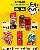 Metro katalog Super ljeto do 24.7.