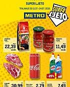 Metro katalog Super ljeto do 24.7.