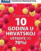JYSK katalog Slavimo 10 godina