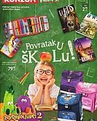 Konzum katalog Povratak u školu