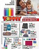 Tommy katalog Škola 2019