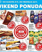 Kaufland vikend akcija do 22.9.