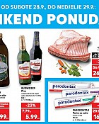 Kaufland vikend akcija do 29.9.