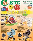 KTC katalog Sve za bebe do 25.9.
