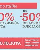 Baby Center vikend akcija Velika rasprodaja