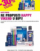 Bipa vikend akcija do 19.10.