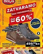 Hervis katalog Zatvaranje Zagreb