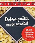 Interspar katalog Tjestenine