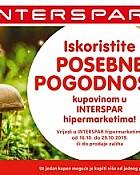 Interspar kuponi prehrana listopad 2019