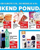 Kaufland vikend akcija do 6.10.