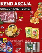 Konzum vikend akcija do 20.10.