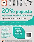 Muller kupon kućanstvo 20%