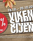 Pevec vikend akcija do 20.10.