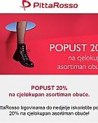 PittaRosso akcija -20% popusta na obuću