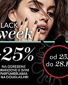 Douglas akcija Black Week