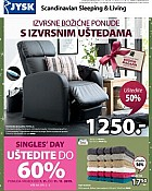 JYSK katalog Božićne ponude 2019