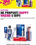 Bipa vikend akcija do 1.2.