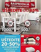 JYSK katalog Rasprodaja do 22.1.