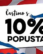 Konzum akcija -10% popusta