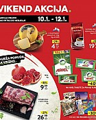Konzum vikend akcija do 12.1.