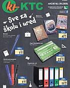 KTC katalog Sve za ured i školu