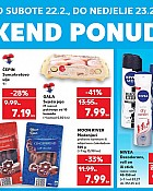 Kaufland vikend akcija do 23.2.