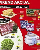 Konzum vikend akcija do 1.3.