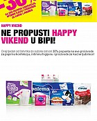 Bipa vikend akcija do 28.3.