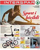 Interspar katalog Sport i bicikli 2020