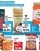 Kaufland vikend akcija do 22.3.