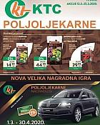 KTC katalog Poljoljekarne do 25.3.