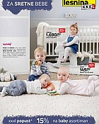 Lesnina katalog Za sretne bebe