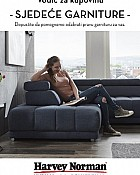 Harvey Norman katalog Sjedeće garniture