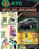 KTC katalog Poljoljekarne do 29.4.