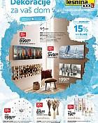 Lesnina katalog Dekoracije za vaš dom