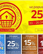 Lesnina Web shop akcija do 26.4.