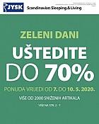 JYSK katalog Zeleni dani do 20.5.