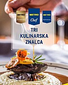 Metro katalog Tri kulinarska znalca do 8.7.