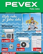Pevex katalog Stigla roba za ljetno doba