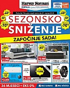 Harvey Norman katalog Sezonsko sniženje do 31.7.