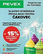 Pevex katalog Čakovec do 11.7.